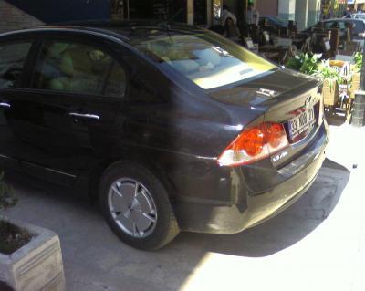 Türkiye'de satılan ilk ve tek HİBRİD otomobil: Honda Civic Hybrid