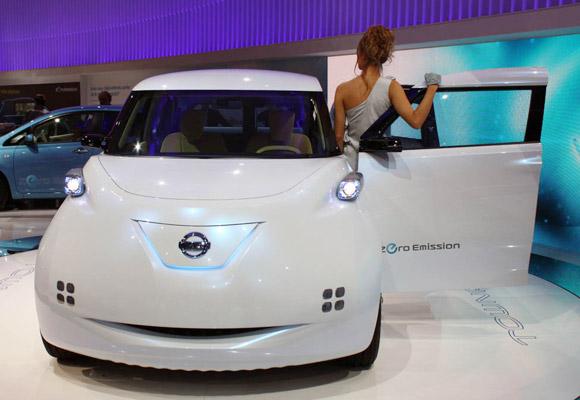 Paris 2010 : Nissan Townpod Concept Elektrikli Otomobil