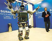 Türkiye'nin ilk insansı robotu SURALP'e 1 milyon dolar harcandı
