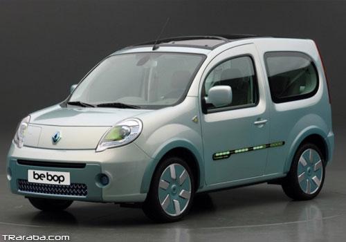 Elektrikli Yeni Renault Kangoo 2011′de Geliyor !
