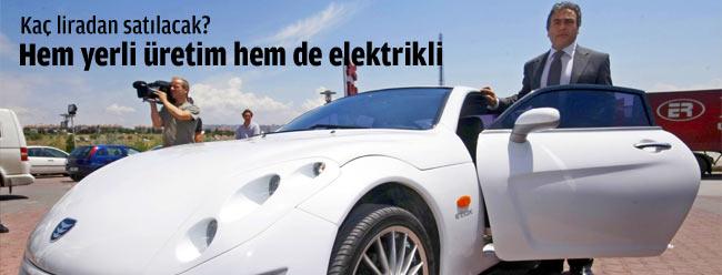 Yerli elektrikli otomobil hayali gerçek oluyor
