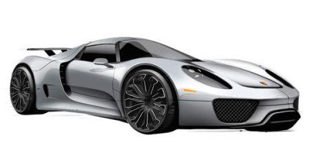 Porsche'tan çift motorlu araç