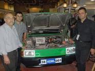 Türk öğrenciler elektrikli araba üretti