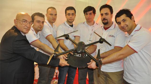 Türk insansız mini uçak