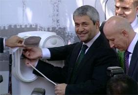 Türkiye'de ilk elektirikli otomobil istasyonu