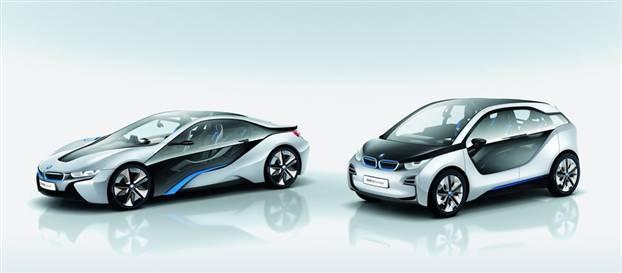 """BMW'nin """"i"""" alt markasının iki yeni modeli"""