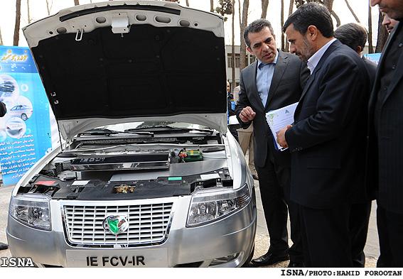 İRAN İslam Cumhuriyeti Elektrikli Otomobil SAMAND Tanıttı…