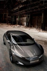 Peugeot'nun yeni konsept modeli HX1 Metamorfoz