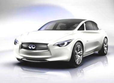 INFINITI Elektrikli Sedan LE Concept'in Avrupa lansmanı Paris'te!