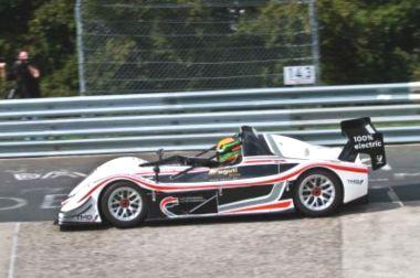 Toyata'nın Elektrikli Spor Otomobili Hız Rekoru Kırdı