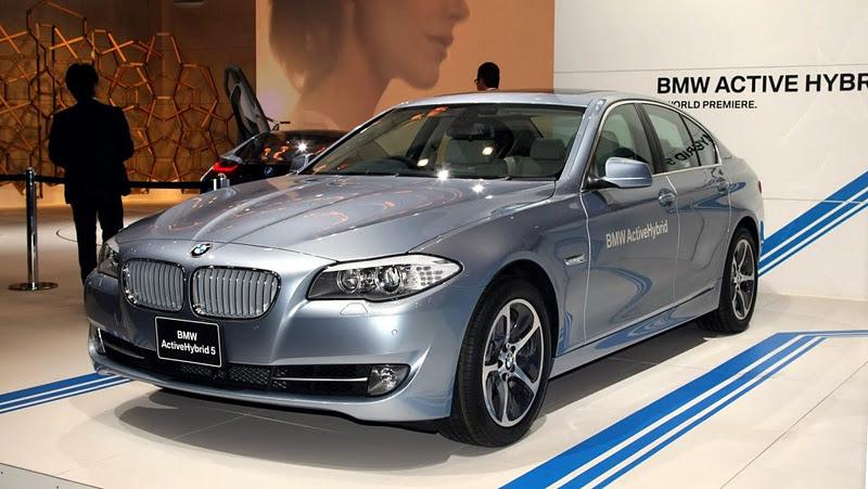 2012 BMW 5-Serisi, Active Hybrid 5 Tokyo Motor Show'da Resmi Olarak Tanıtıldı
