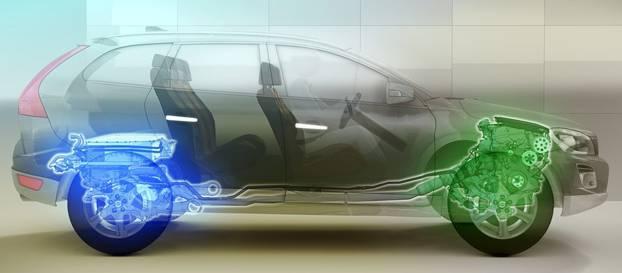 Volvo'nun benzinli-elektrikli hibrit SUV konsepti