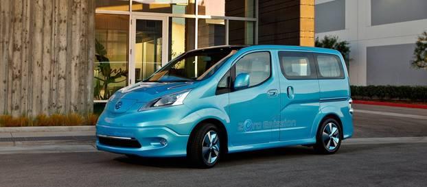 Nissan'ın elektrikli ticari araç konsepti