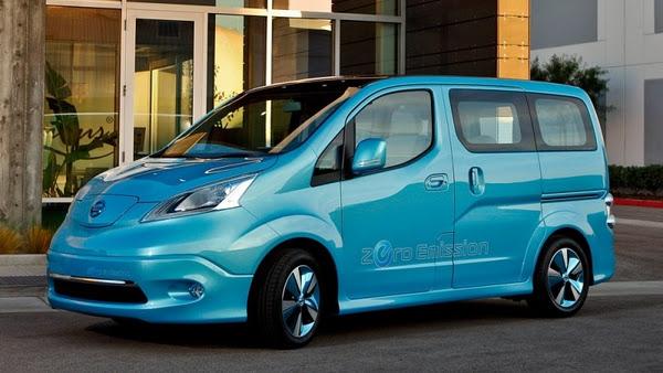 Yeni Nissan e-NV200′de 80kW