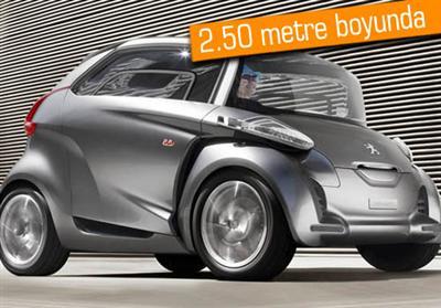 Peugeot'nun BB1 konsept modeli