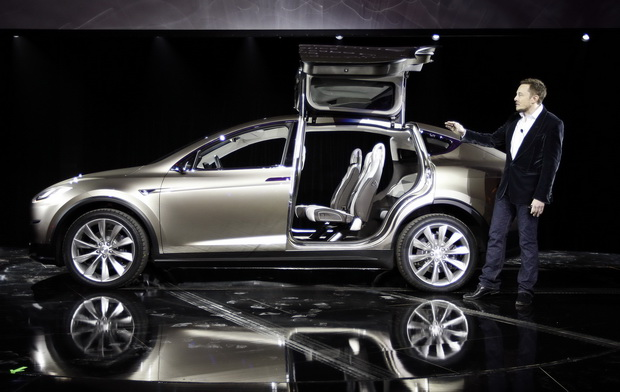 Tesla'dan elektrikli otomobil