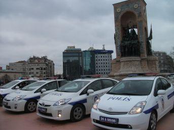 Beyoğlu ve Fatih polisi asayişi çevreci otomobillerle sağlayacak