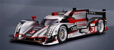 İşte Audi'nin yeni hibrit yarış otomobili