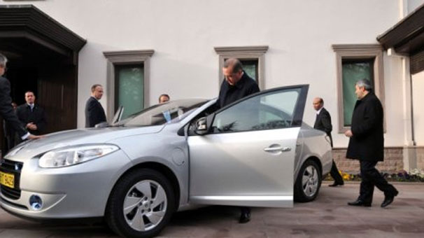 Elektrikli otomobil hazır