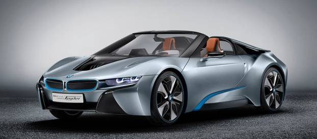 BMW'nin hibrit spor otomobil konsepti
