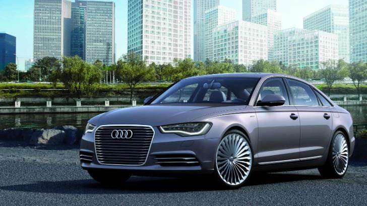 Hibrit Audi A6L e-tron
