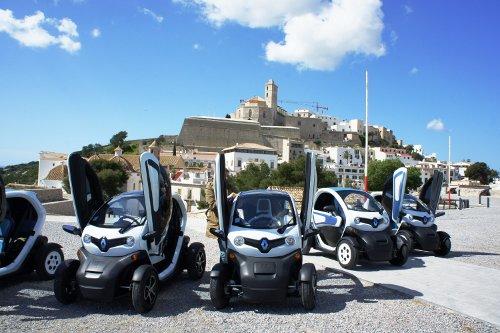 Renault Twizy ile şehre elektrik geldi