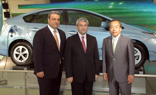 Bakan Toyota'dan 'Sakaria' istedi