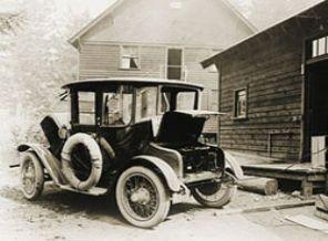 İstanbul'da İlk Elektrikli Araba