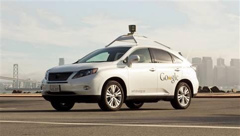 Google'ın yeni nesil sürücüsüz otomobili