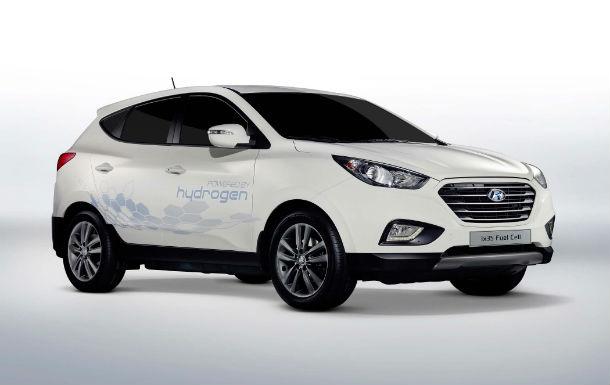 Hyundai'den hidrojenle çalışan yakıt hücreli elektrikli araç!