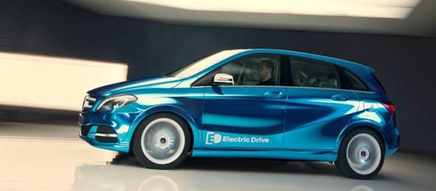 Elektrikli Mercedes-Benz B Sınıfı