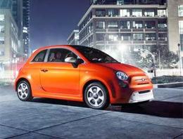 Fiat 500'den elektrikli otomobil