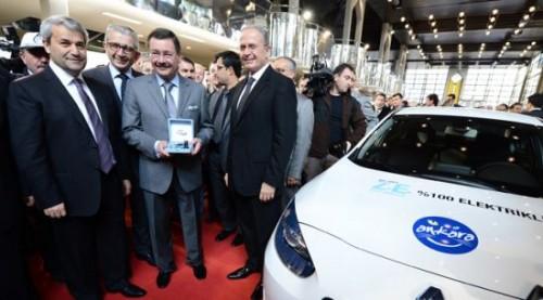 151212 elektrikli otomobiller ankara büyükşehir belediyesinde gökçek ergün