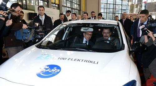 Ankara elektrikli araba filosu