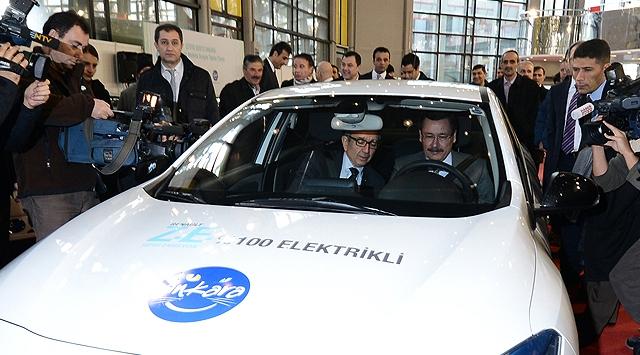 "Ankara'da ""Elektrikli Otomobil"" Dönemi"