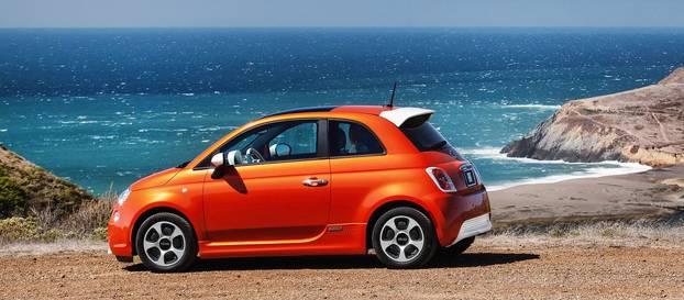 Fiat 500e ABD'deki en verimli elektrikli