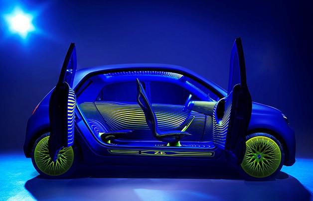 Renault Twin'Z: Elektrik ona yeter…