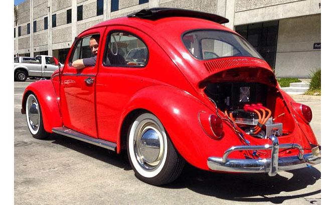 Elektrik Motoru Şimdi de Klasik Arabalarda…