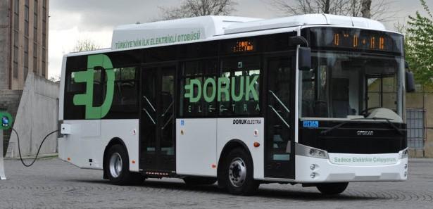 Siirt'te Elektrikli Otobüs Fabrikası çalışmaları
