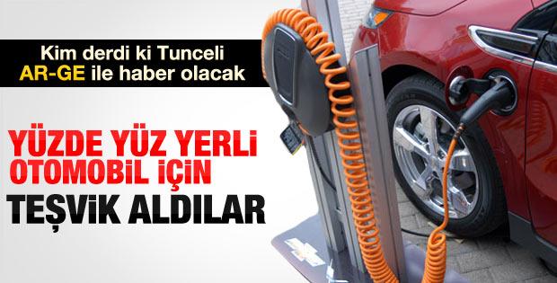Tunceli'nin elektrikli otomobil projesine TÜBİTAK onayı