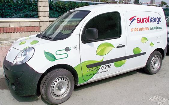 Kargo dağıtımında elektrikli araç dönemi