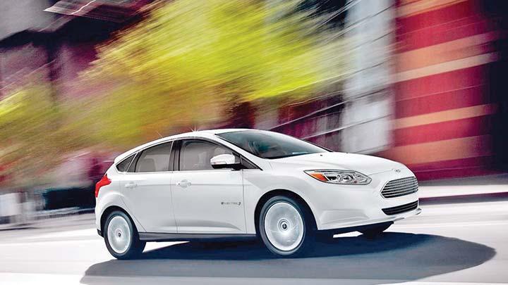 Elektrikli Ford Focus düğmeye bastı