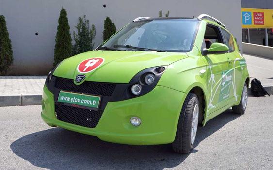 İlk Türk elektrikli otomobil ETOX-4 Ankara'dan