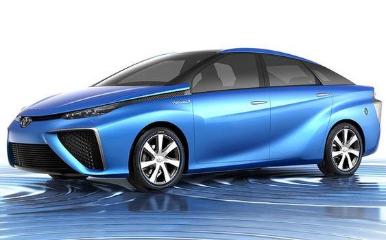 Hidrojen yakıtlı Toyota geliyor