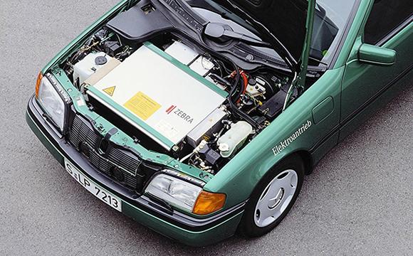 Mercedes eski elektriklilerini ortaya çıkardı…