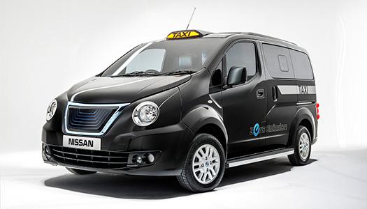 Londra'nın meşhur taksileri elektrikli Nissan'larla değişiyor