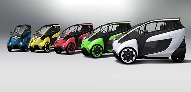 Toyota elektrikli şehirli aracını test ediyor