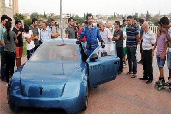 Elektrikli otomobil Yerel 1 Antalya'ya ulaştı
