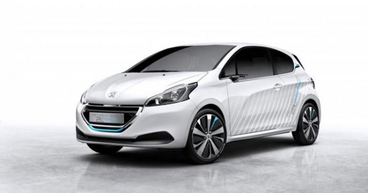 Peugeot 208 Hybrid Air, Basınçlı Hava İle Çalışıyor