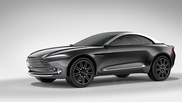Aston Martin'den 800 Beygirlik Elektrikli Otomobil!